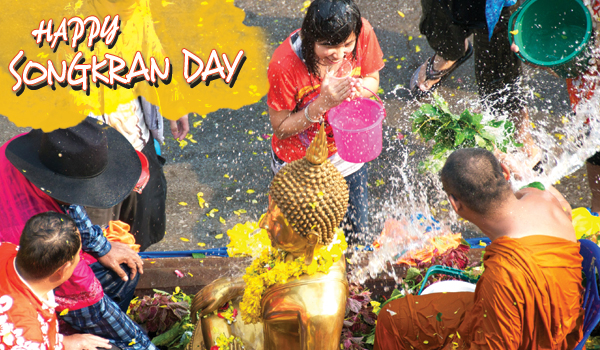 Image result for happy songkran blessings