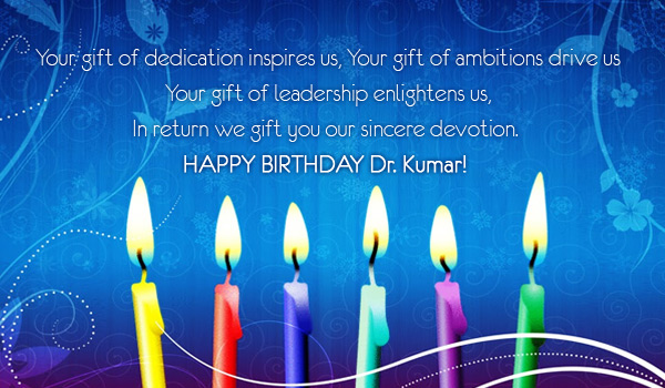 we Wish You a Many Many Happy
